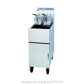 Dean SM40G-SINGLE-STK Gas Fryer Single