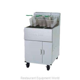 Dean SM5020G Fryer, Gas, Floor Model, Full Pot