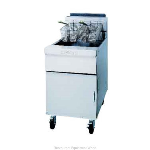 Dean SM60G-SINGLE-STK Gas Fryer Single