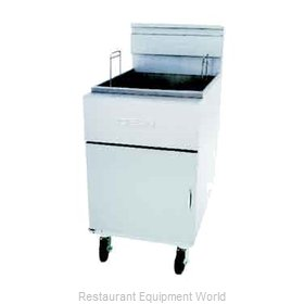 Dean SM80G-SINGLE-STK Gas Fryer Single