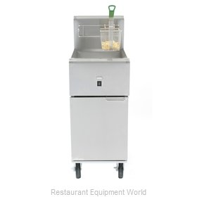 Dean SR114E Fryer, Electric, Floor Model, Full Pot