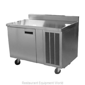 Delfield 186114BSTMP Refrigerated Counter, Work Top