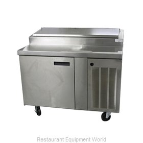 Delfield 18648PTBM Refrigerated Pizza Prep Table