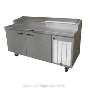Delfield 18660PTBMP Refrigerated Counter, Pizza Prep Table