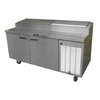 Mesa Refrigerada de Preparación de Pizzas <br><span class=fgrey12>(Delfield 18660PTBMP Refrigerated Counter, Pizza Prep Table)</span>