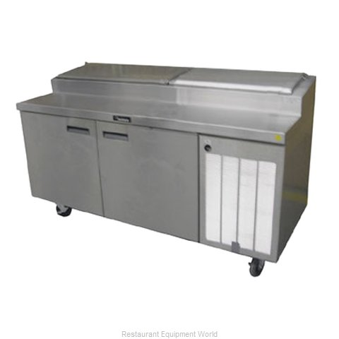 Delfield 18672PTBMP Refrigerated Counter, Pizza Prep Table