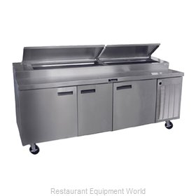 Delfield 18691PTBMP Refrigerated Counter, Pizza Prep Table
