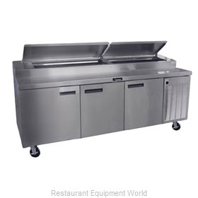 Delfield 18699PTBMP Refrigerated Counter, Pizza Prep Table