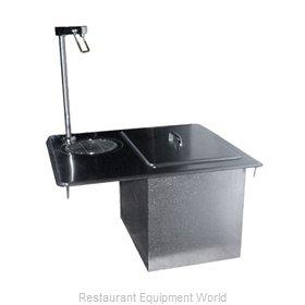 Delfield 204P Ice & Water Unit, Drop-In