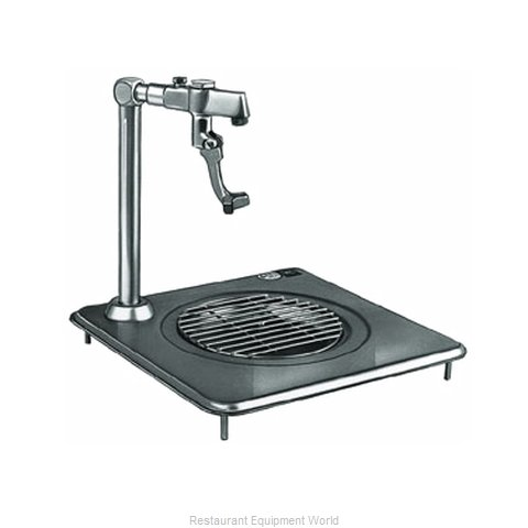 Delfield 307 Glass Filler Station with Drain Pan