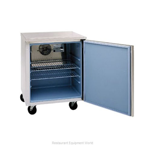 Delfield 406-CA Reach-in Undercounter Refrigerator 1 section (Magnified)