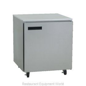 Delfield 406-CAP Refrigerator, Undercounter, Reach-In