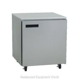 Delfield 406CAP Refrigerator, Undercounter, Reach-In
