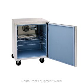 Delfield 407-CA Reach-In Undercounter Freezer 1 section