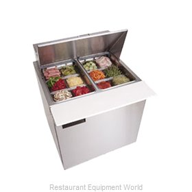Delfield 4432N-12M Refrigerated Counter, Mega Top Sandwich / Salad Unit
