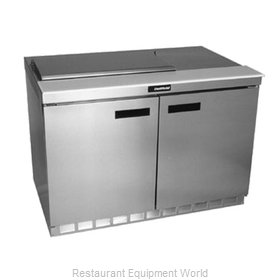 Delfield 4448N-8 Refrigerated Counter, Sandwich / Salad Top