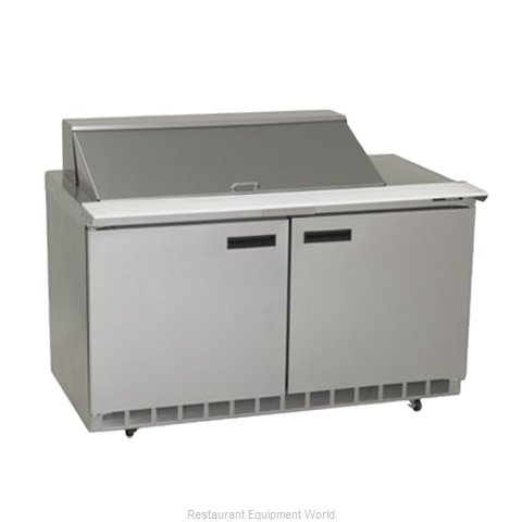 Delfield 4460N-18M Refrigerated Counter, Mega Top Sandwich / Salad Unit (Magnified)