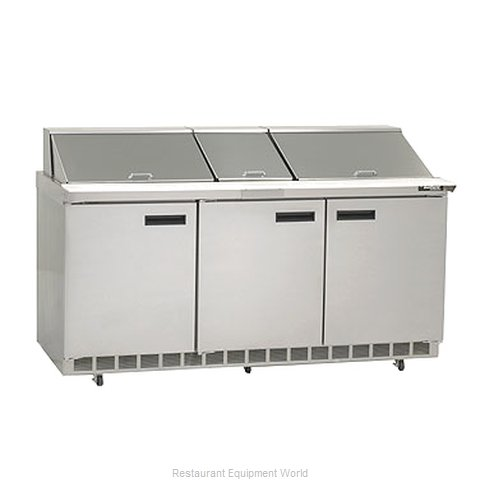 Delfield 4472N-30M Refrigerated Counter, Mega Top Sandwich / Salad Unit
