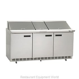 Delfield 4472N-30M Mega Top Sandwich Unit