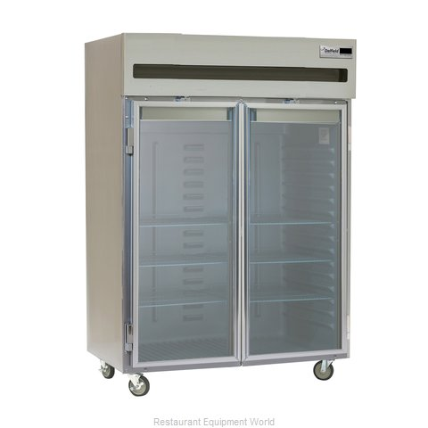 Delfield 6051XL-G Reach-in Refrigerator 2 sections