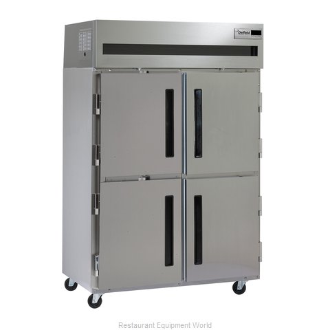 Delfield 6051XL-SHR Reach-in Refrigerator 2 sections