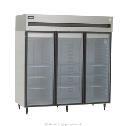 Delfield 6076XL-G Reach-in Refrigerator 3 sections