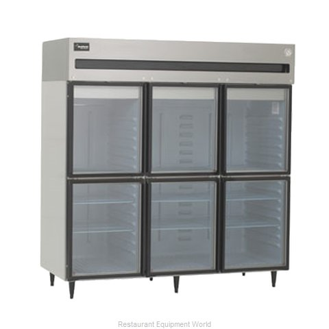 Delfield 6076XL-GHR Reach-in Refrigerator 3 sections