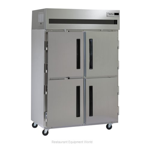 Delfield 6151XL-SH Solid Door Reach-In Freezer