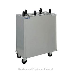 Delfield CAB2-1013ET Dispenser, Plate Dish, Mobile