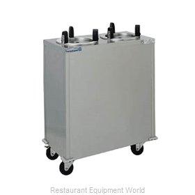 Delfield CAB2-650ET Dispenser, Plate Dish, Mobile