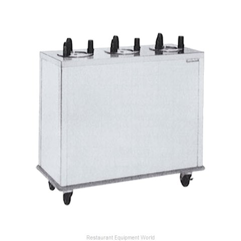 Delfield CAB3-500ET Dispenser, Plate Dish, Mobile