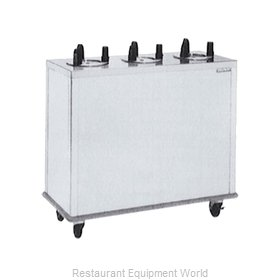 Delfield CAB3-650ET Dispenser, Plate Dish, Mobile