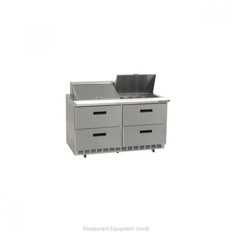 Delfield D4448N-8 Refrigerated Counter, Sandwich / Salad Top