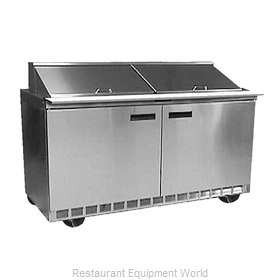 Delfield D4464N-12M Refrigerated Counter, Mega Top Sandwich / Salad Unit