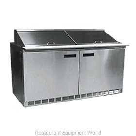 Delfield D4464N-16 Refrigerated Counter, Sandwich / Salad Top