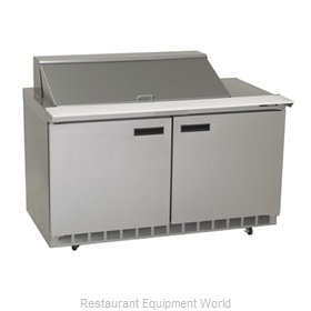 Delfield D4464N-18M Refrigerated Counter, Mega Top Sandwich / Salad Unit