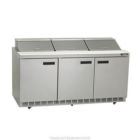 Delfield D4472N-18M Mega Top Sandwich Unit