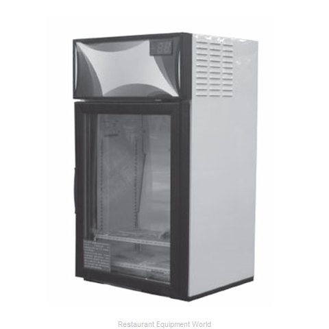 Delfield DMER3-G Display Case Refrigerated Countertop