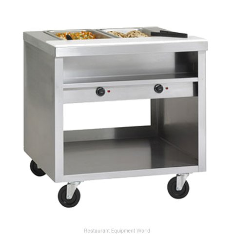 Delfield EHEI48C Serving Counter Hot Food Steam Table Electric