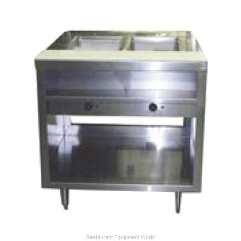 Delfield EHEI48L Serving Counter Hot Food Steam Table Electric