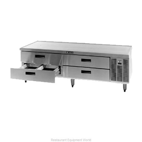 Delfield F2880 Refrigerated Counter Griddle Stand