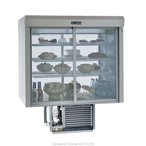 Delfield F5MC48D Display Case Refrigerated Merchandiser Drop-In (Magnified)