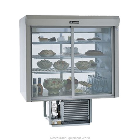 Delfield F5PC48D Display Case Refrigerated Merchandiser Drop-In (Magnified)