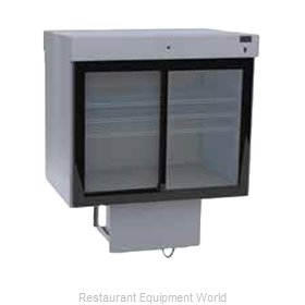 Delfield F5SC72DV Refrigerated Merchandiser, Drop-In