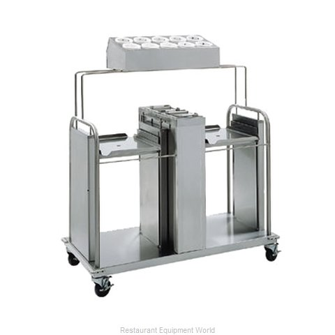 Delfield FT2-SN-1418SS Tray Silverware Napkin Dispenser (Magnified)