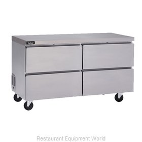 Delfield GUF60P-D Freezer, Undercounter, Reach-In
