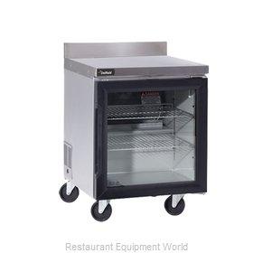 Delfield GUR24BP-G Refrigerated Counter, Work Top