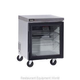 Delfield GUR24P-G Refrigerator, Undercounter, Reach-In