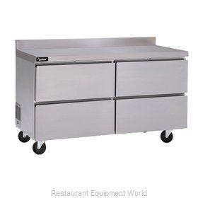 Delfield GUR27BP-D Refrigerated Counter, Work Top