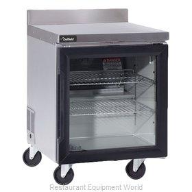 Delfield GUR27BP-G Refrigerated Counter, Work Top